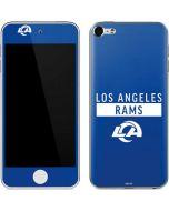 Los Angeles Rams Blue Performance Series Apple iPod Skin