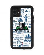 Minnesota Timberwolves Historic Blast iPhone 11 Waterproof Case