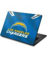 Los Angeles Chargers Team Jersey Dell Chromebook Skin