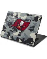Tampa Bay Buccaneers Camo Dell Chromebook Skin