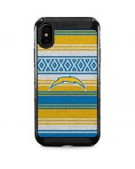 Los Angeles Chargers Trailblazer iPhone XS Max Cargo Case
