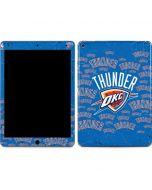 Oklahoma City Thunder Blast Apple iPad Air Skin