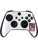 California White Block Xbox Series X Controller Skin