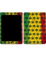 Marijuana Rasta Pattern Apple iPad Air Skin