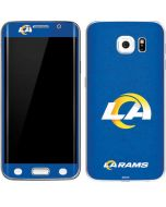 Los Angeles Rams Distressed Galaxy S6 Edge Skin