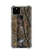 Philadelphia Eagles Realtree AP Camo Google Pixel 5 Clear Case
