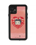 Betty Boop Red Heart iPhone 11 Waterproof Case
