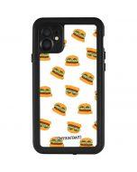 Cute Burgers iPhone 11 Waterproof Case
