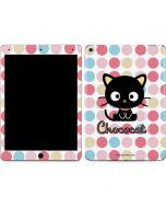 Chococat Pink Circles Apple iPad Air Skin