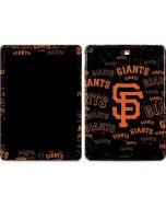 San Francisco Giants - Cap Logo Blast Apple iPad Air Skin