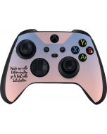 Wake Up With Determination Xbox Series X Controller Skin