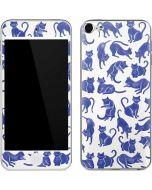 Blue Cats Apple iPod Skin