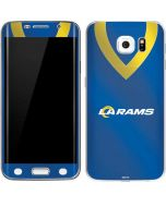 Los Angeles Rams Team Jersey Galaxy S6 Edge Skin