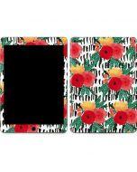 Bouquets Print 3 Apple iPad Air Skin