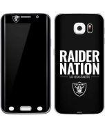 Las Vegas Raiders Team Motto Galaxy S6 Edge Skin