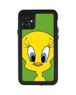 Tweety Bird Zoomed In iPhone 11 Waterproof Case