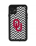Oklahoma Sooners Chevron iPhone 11 Waterproof Case