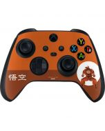 Goku Orange Monochrome Xbox Series X Controller Skin