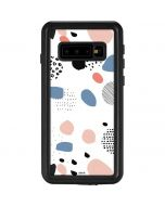 Patterned Dots Galaxy S10 Waterproof Case