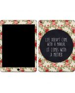 Life Doesnt Come With A Manual Apple iPad Air Skin