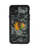 Chicago Blackhawks Camo iPhone 11 Waterproof Case