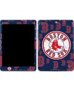 Boston Red Sox - Secondary Logo Blast Apple iPad Air Skin