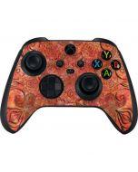Orange Zen Xbox Series X Controller Skin