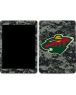 Minnesota Wild Camo Apple iPad Air Skin