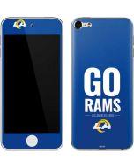 Los Angeles Rams Team Motto Apple iPod Skin