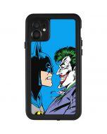 Batman vs Joker - Blue Background iPhone 11 Waterproof Case