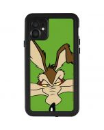 Wile E Coyote Zoomed In iPhone 11 Waterproof Case