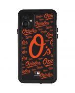 Baltimore Orioles - Cap Logo Blast iPhone 11 Waterproof Case