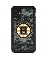 Boston Bruins Camo iPhone 11 Waterproof Case