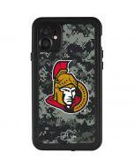 Ottawa Senators Camo iPhone 11 Waterproof Case