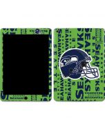 Seattle Seahawks - Blast Green Apple iPad Air Skin