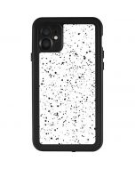 White Speckle iPhone 11 Waterproof Case