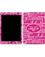 New York Jets Pink Blast Apple iPad Air Skin