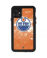 Edmonton Oilers Frozen iPhone 11 Waterproof Case
