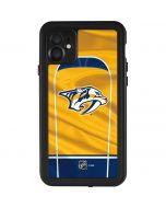 Nashville Predators Jersey iPhone 11 Waterproof Case