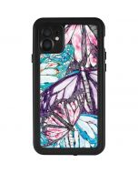 California Monarch Collage iPhone 11 Waterproof Case