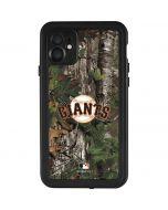 San Francisco Giants Realtree Xtra Green Camo iPhone 11 Waterproof Case
