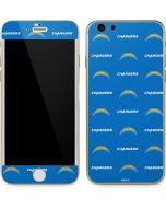 Los Angeles Chargers Blitz Series iPhone 6/6s Skin