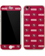 San Francisco 49ers Blitz Series iPhone 6/6s Skin