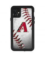 Arizona Diamondbacks Game Ball iPhone 11 Waterproof Case