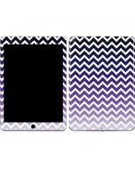 Chevron Purple Ombre Apple iPad Air Skin