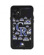 Colorado Rockies Blast iPhone 11 Waterproof Case
