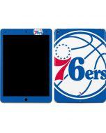 Philadelphia 76ers Large Logo Apple iPad Air Skin