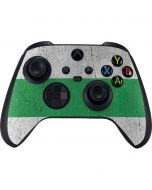 Nigeria Flag Distressed Xbox Series X Controller Skin
