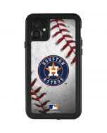 Houston Astros Game Ball iPhone 11 Waterproof Case