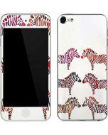 Rainbow Zebras Apple iPod Skin